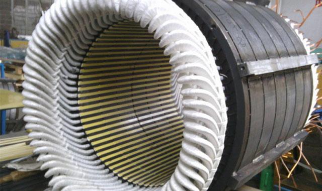 高压电机绕组