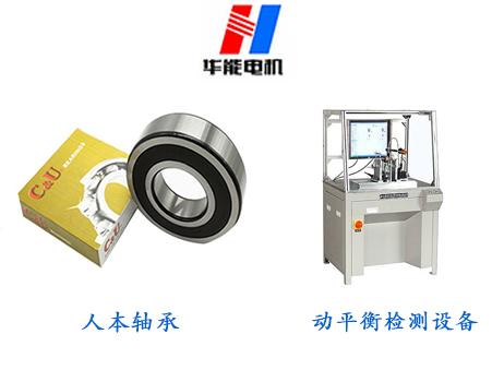 变频电机轴承动平衡检测