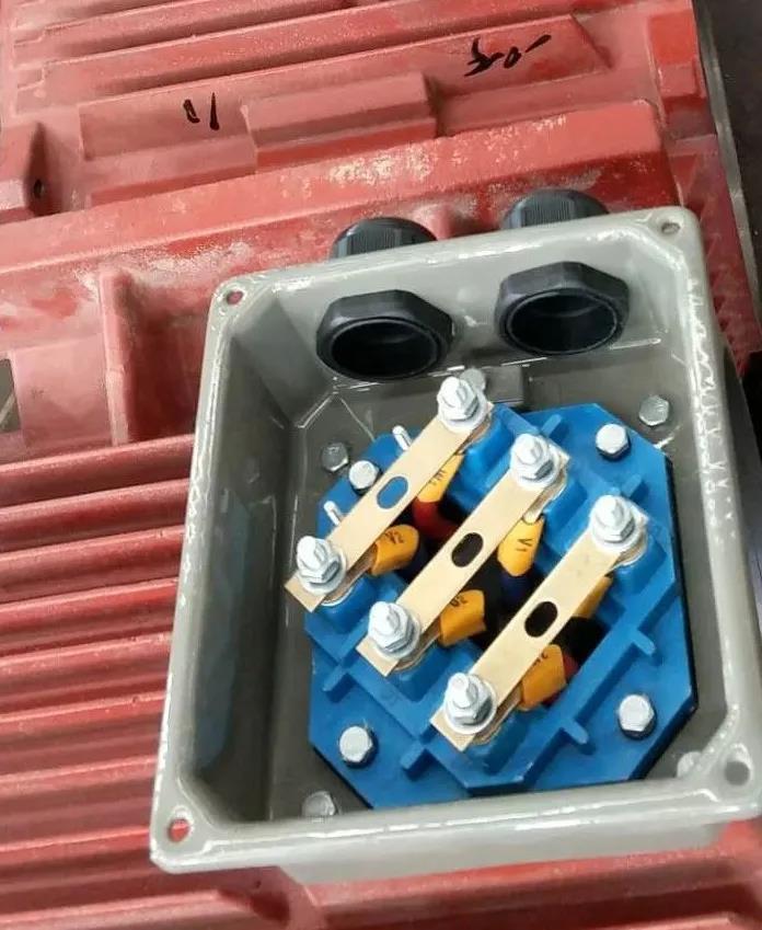 山东盛华变频电机-接线盒