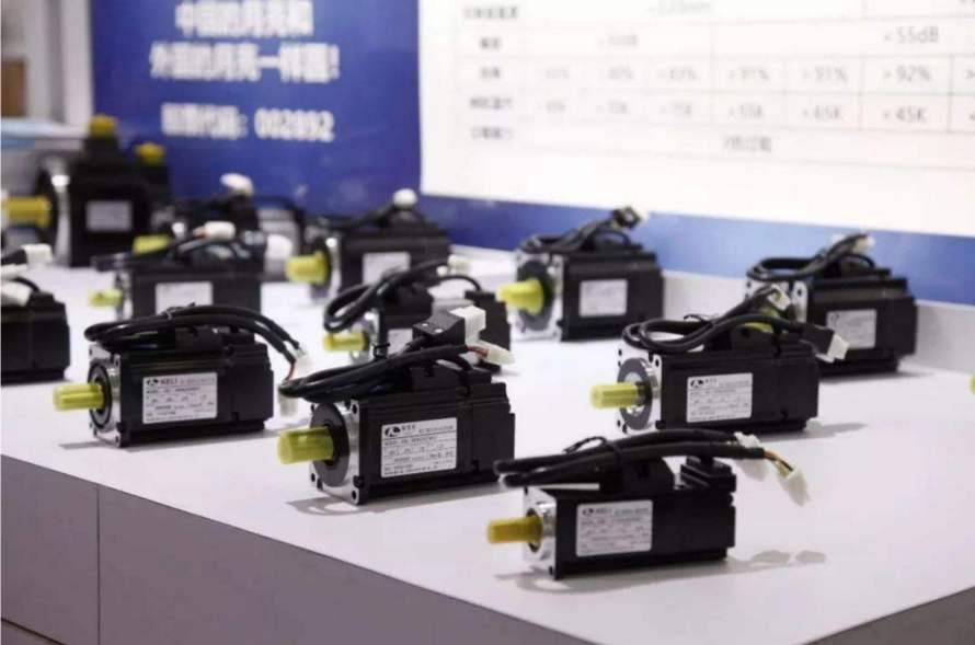 展会电机产品